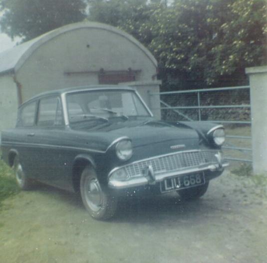 Griffin Gerrys car